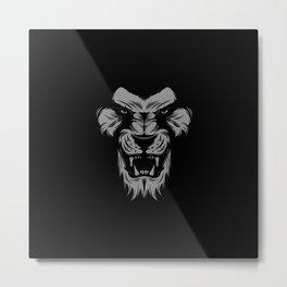 Tiger Lion Monkey Metal Print