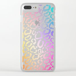 Animal Print Clear iPhone Case