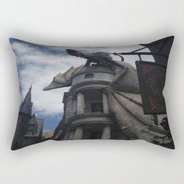 Diagon Alley Dragon Rectangular Pillow