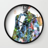 bond Wall Clocks featuring Bond, James Bond by NKlein Design