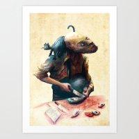 Fisher Cat Art Print