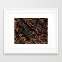 ethnic Framed Art Prints featuring Ethnic by Amanda Moore