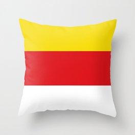 flag of Kärnten or Carinthia Throw Pillow