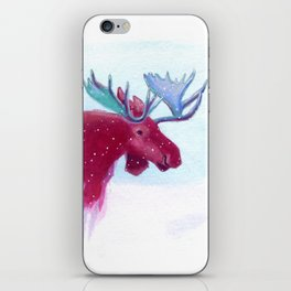 Frank the Pink Moose iPhone Skin