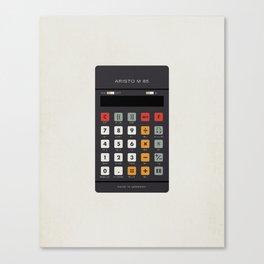 "Vintage Calculator Series: ""Aristo M 85"" Canvas Print"