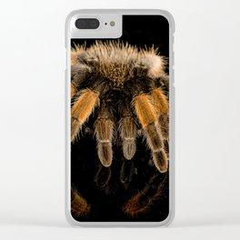 Tarantula and Reflection Clear iPhone Case