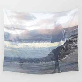 Into the Wave Wall Tapestry