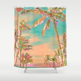 Hawaii Beach, Mauna Lani Bay Shower Curtain