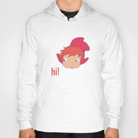 ponyo Hoodies featuring Ponyo by Etiquette