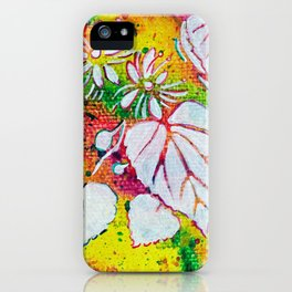 Leaves on the World Tree: Czechs Lípa ( Linden or Lime ) iPhone Case
