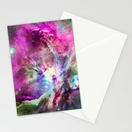 NEBULA ORION HEAVENLY CELESTIAL MIRACLE Stationery Cards