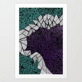 Engulf Art Print