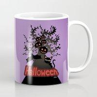 halloween Mugs featuring Halloween by BATKEI