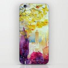San Gimignano iPhone & iPod Skin