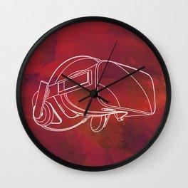 Virtual reality mask Wall Clock
