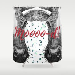 Mood cows Shower Curtain
