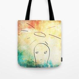 Confused Little Jesus Tote Bag