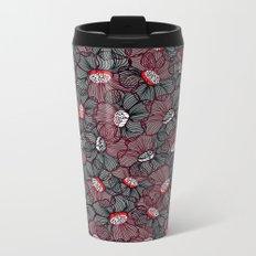 Flower 14 Metal Travel Mug