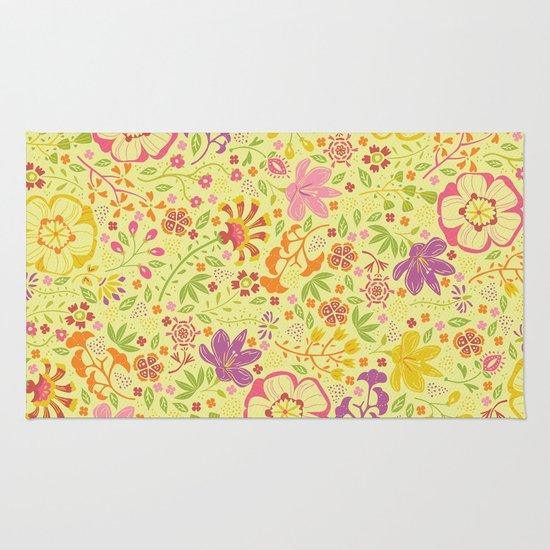 Oriental Blooms Rug