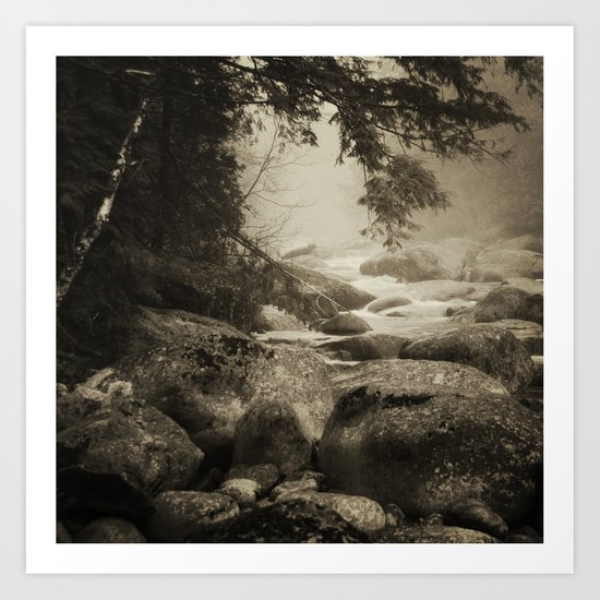 Mountain Brook Art Print