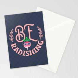 Be Radishing - Punny Garden Stationery Cards
