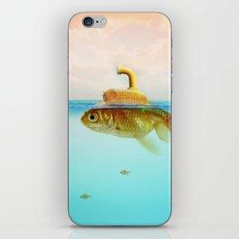 Submarine Goldfish iPhone Skin