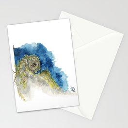 Stone Owl Stationery Cards