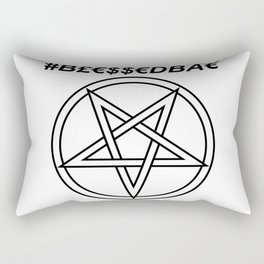TRULY #BLESSEDBAE INVERTED INVERSE Rectangular Pillow