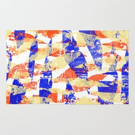 RED YELLOW BLUE – I LOVE YOU Rug