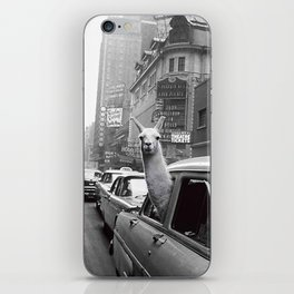New York Llama iPhone Skin