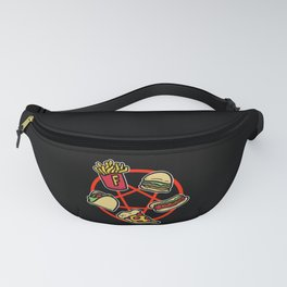 Deadly Combination Fast Food Unhealthy Fanny Pack