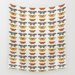 Moth Collage I Wall Tapestry
