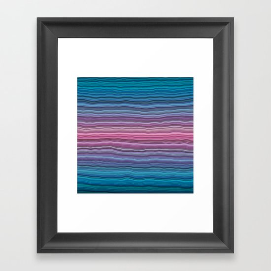 Sediment Framed Art Print