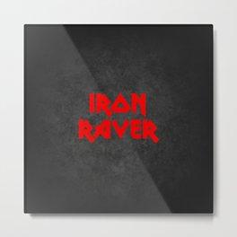 IRON RAVER, dj gift Metal Print