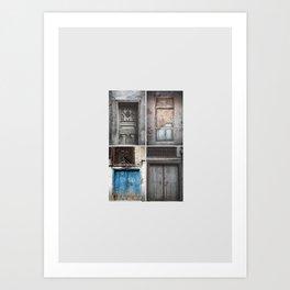 OLD DOORS 2 Art Print