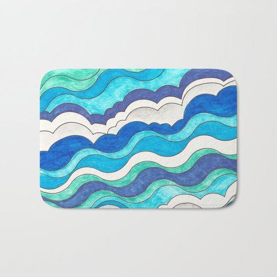 Make Waves II Bath Mat