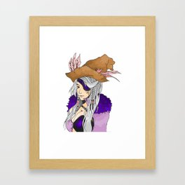 anime sexy pirates Framed Art Print