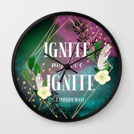 Ignite Wall Clock