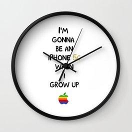 iPhone 5s Wall Clock