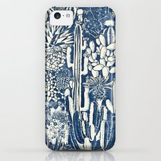Indigo cacti Slim Case iPhone 5c