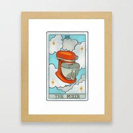 The Mixer | Baker's Tarot Framed Art Print