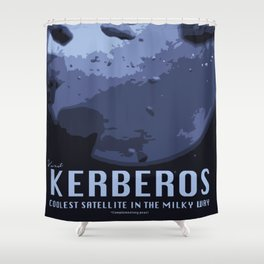 Visit Kerberos! Shower Curtain