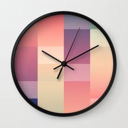 Abstract Sunset #society6 #decor #buyart Wall Clock