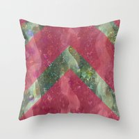 klimt Throw Pillows featuring klimt by littlehomesteadco