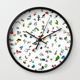 LOVE LOVE LOVE Wall Clock