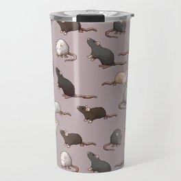 Pixel Rats Travel Mug