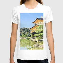 Castle in gold T-shirt