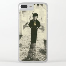 666 Mark of the Beast Clear iPhone Case