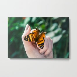 Butterfly - Live Simply  Metal Print