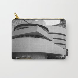 New York, Solomon R Guggenheim Museum, Frank Lloyd Wright, NYC Taxi Carry-All Pouch